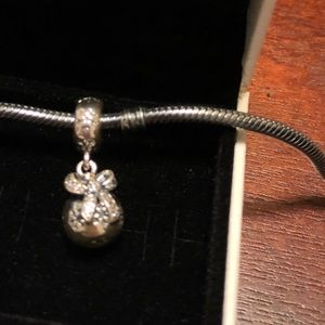 Authentic Pandora Bow charm